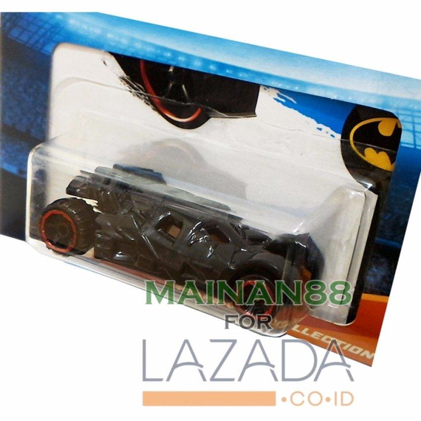 ... Hot Wheels Batman Tempat Mobil Twin Pack Hot Box isi 2 - Multicolour ...
