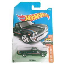 Hot Wheels Datsun 620 Pickup - Hitam / Matte Black