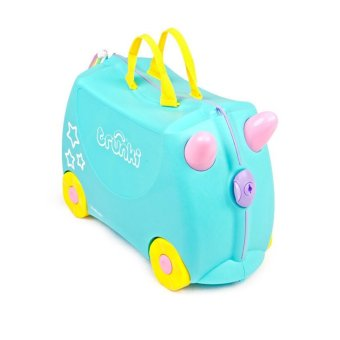 Harga Trunki Ride on Kids Suitcase Una Unicorn