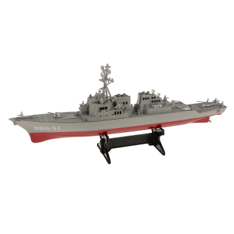Harga BolehDeals 1/350 Scale Plastic Destroyer Warships Model Toys Collectible