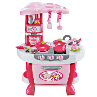 Harga Tomindo Kids Kitchen Little Chef - Pink 008-801