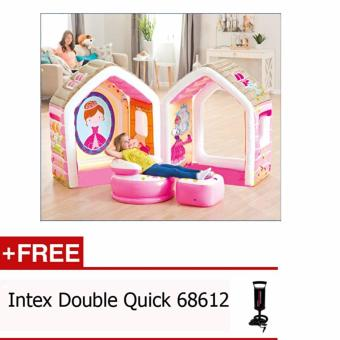 Harga Mainan Anak Tenda Balon - Intex Princess Play House 48635 Free Pompa Intex 68612