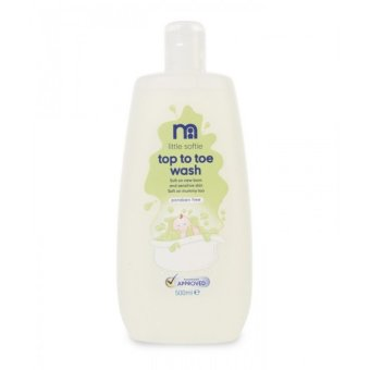 Harga Mothercare Little Softie Top To Toe Wash - 500ml