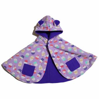 Harga Baby Cape Jaket Selimut Bayi - Cup Cakes Babycape By Bibbo