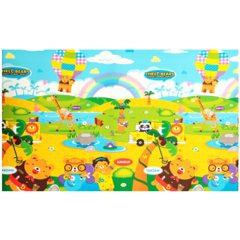 Harga Topsbridge Playmat Three Forest Bears 240x140x1.4cm