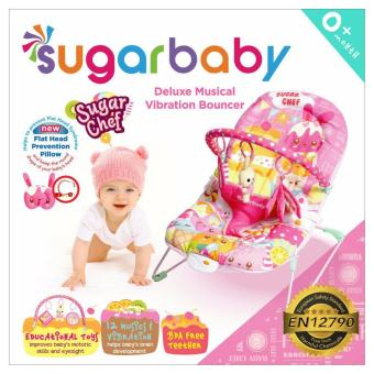 Harga Sugar Baby Bouncer - Sugar Chef Pink