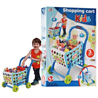 Harga Mao Shopping Cart With Trolley For Kids