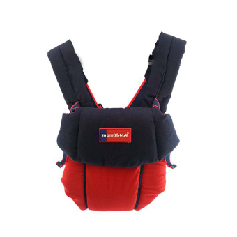 Harga Moms Baby Gendongan Ransel Simple Aplikasi Bordir - Merah Navy