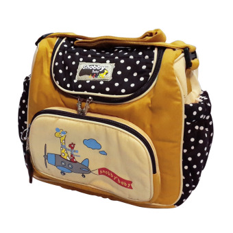 Harga Lynx Candy Tas Bayi Snobby Medium Baby Bag Dotty 1472- Kuning