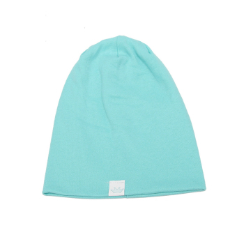 Harga Imixlot Fashion Knitted Cotton Children's Hats(Light Blue) - intl