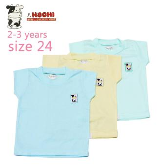 Harga Hachi Baby Wear Short Sleeves T-Shirts Color Isi 3 Pcs - 24
