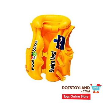 Harga INTEX Pelampung Deluxe Swim Vest School 58660