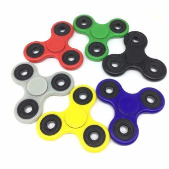 Harga Fidget Spinner Hand Toys Mainan Tri-Spinner EDC Ceramic Ball Focus Games Warna Random