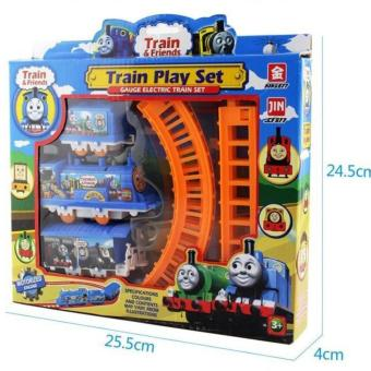 Harga MOMO Toys Mainan Anak Thomas Mini Train Track Set