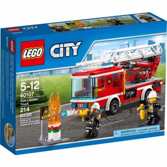 Harga Lego City 60107 Fire Ladder Truck