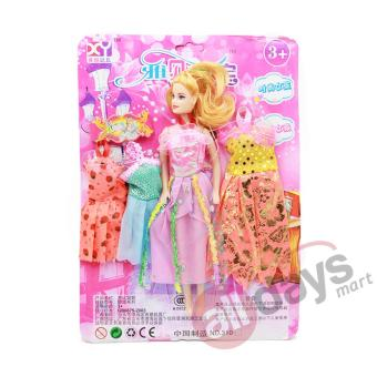 Alldaymart Mainan Boneka Anak Barb Sweet Mini 1604-335 + Sepatu Barb 1604-331