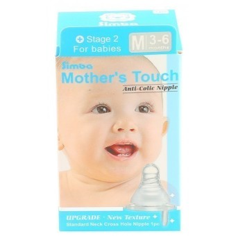 Harga Simba Mother Touch Standard Cross Nipple - M