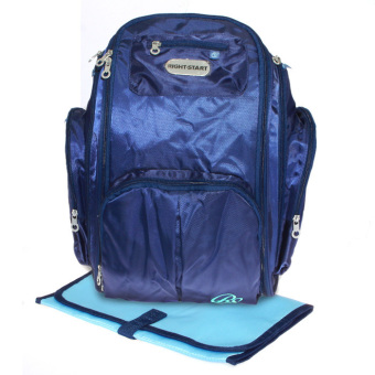 Harga Right Starts Diaper Bag Backpack 0976 – Biru