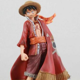 Harga ONE Piece 15th Anniversary Luffy figure toys - intl