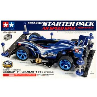 Harga Tamiya Mini 4WD Starter Pack AR Speed Type (Aero Avante) (95210)