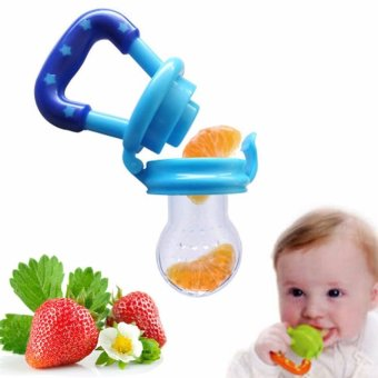 Harga Baby Bite Pacifier And Baby Food Supplement For Fruits And Vegetable Baby Feeder - intl