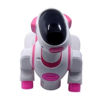 AA Toys Dancing Dog BO 8200 Pink - Mainan Dancing Dog Robot BO
