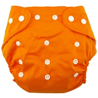 Harga Ultimate Cloth diaper/Cloth diapers/Popok Kain Bayi IM BY 72 CD / Pampers Kain - Orange