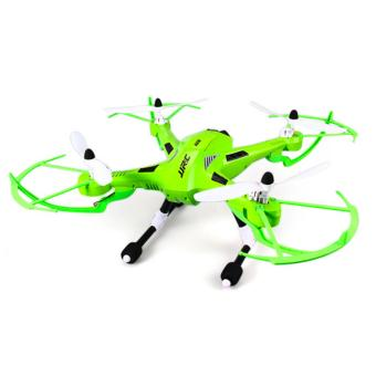 Harga JJRC H26W WIFI FPV HD 720P CAM 2.4G 4 Channel 6 Axis Gyro RC Quadcopter - Green