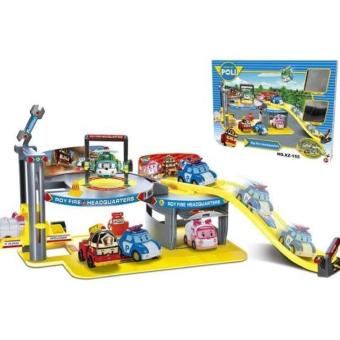 Harga Robocar Poli Roy Fire Headquarters XZ-155