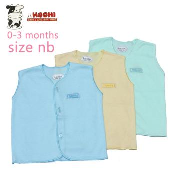 Harga Hachi Baby Wear Clothes Sleeveless Color Isi 3 Pcs - Newborn