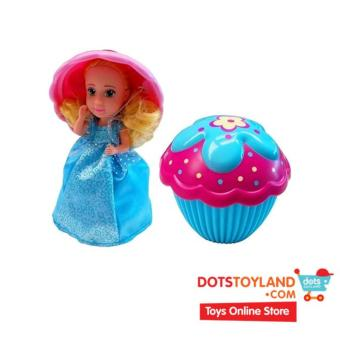 Harga Emco Cupcake Surprise Soft Blue (Peanut Butter) - Boneka