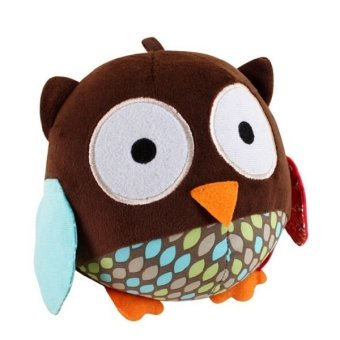 Harga Baby Stereoscopic Cartoon Animal Bell Ball (Owl)
