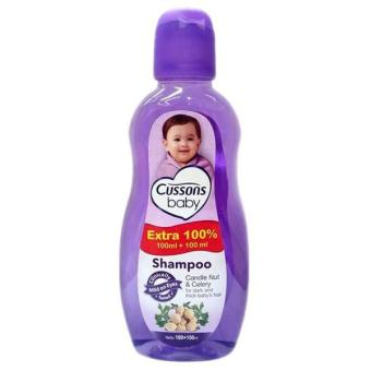 Harga Cussons Baby Shampoo Candle Nut & Celery - 100+100 ml