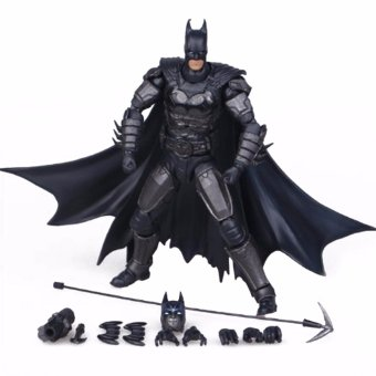 Harga Hequ NEW Batman Liga Keadilan aksi Batman Mobile mainan aksi The Dark Knight naik Batman mainan boneka Natal - International
