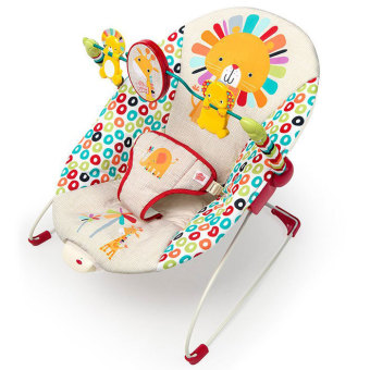 Harga Bright Starts Playful Pinwheels Bouncer