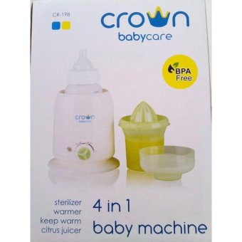 Harga Crown Baby 4in1 Baby Machine / Pemanas ASI - Putih