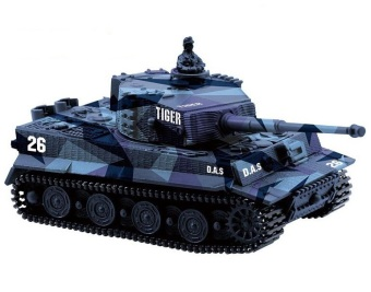 Harga Battle Tank 14CH 1:72 Scale Remote Control Simulated Panzer Tiger Mini Tank Children Toy