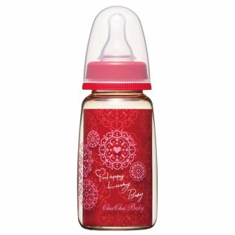 Harga CHUCHU PPSU Baby Feeding Bottle Cool Red 150 ml