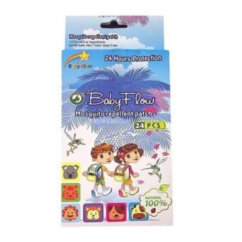 Harga Baby Flow Mosquito Repellent Patch 24Pcs