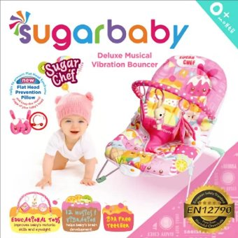 Harga Sugar Baby Deluxe Musical Vibration Bouncher - Sugar Chef
