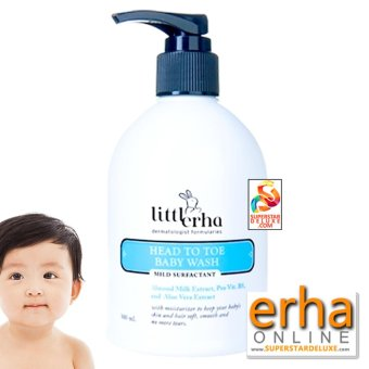 Harga Erha Head to Toe Baby Wash (sabun bayi)