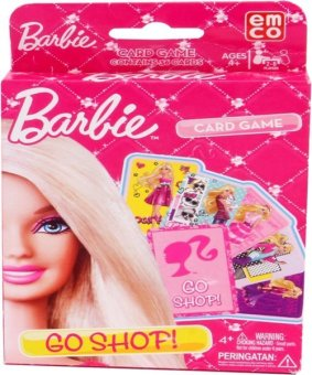 Harga Emco Barbie Card Game Asst - Go Shop