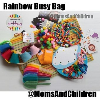 Harga El-Hana - Rainbow Busy Bag