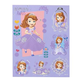 Harga Sofia The First 3D Flocking Stickers