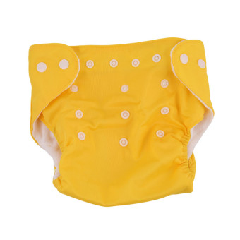 Harga Yingwei New Reusable Nappies for Baby Babies Newborn Cloth Nappy Diapers Adjustable Newborn to Toddler Yellow