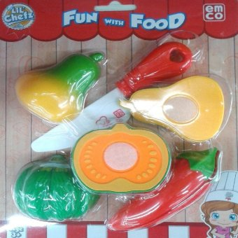 Harga Emco Lil Chefz Food Box Set - Small - Melon