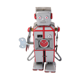 Wind Up Robot MS502A Tin Toy