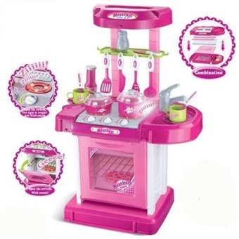 Harga Tomindo Kitchen Set Koper - Pink