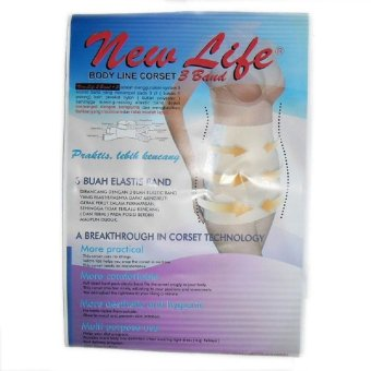 Harga New Life Body Line Corset 3 Band Gurita Ibu