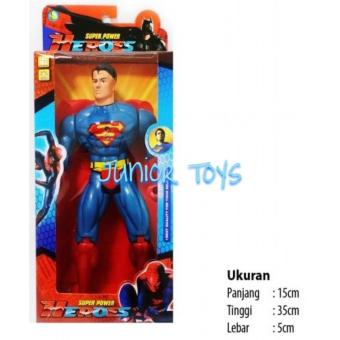 Harga Mainan Robot Super Power Hero Superman Dus